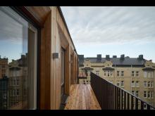 Kvarteret Torget - balkong