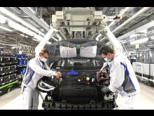 Produktionen av elbilen ID.3 har startat igen.