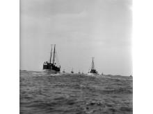 Islandsfiskare lämnar Åstol 1954