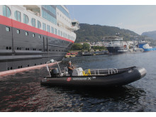 OXE operates with Hurtigruten 001