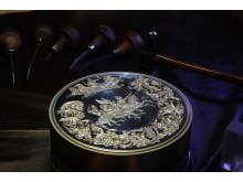 Pistrucci Waterloo Medal minting die