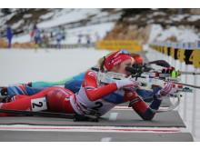 Emilie Kalkenberg,skytebane, jaktstart ungdom kvinner, junior-vm2016