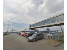 Esbjerg-Harwich færgen - Gadefoto