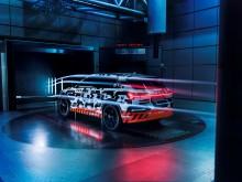 Audi e-tron aerodynamic (fra siden)