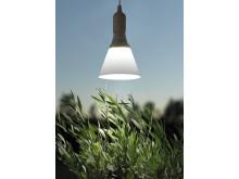 Växtbelysning LED-lampa 15 W med skärm.
