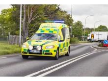 ehälsomyndigheten, Vårdförbundet och Karolinska Institutet kartlägger e-hälsan i den svenska ambulansvården.