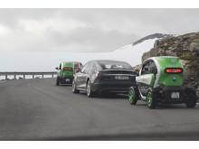 Kein Pass ist zu hoch: Elektroautos im norwegischen Gebirge