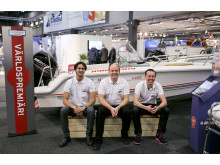Båtmässan 2014 Världspremiär på Lerkils Båtvarv