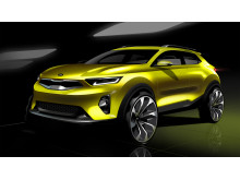 Kia Stonic First sketch_front