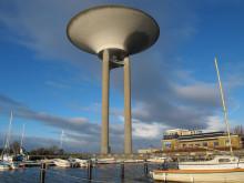 Nya vattentornet i Landskrona