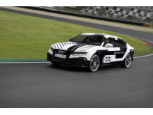 RS7 piloted driving car front side