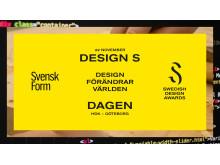 Design S-dagen Göteborg