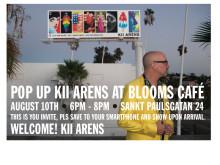 Pop Up Exhibition Bageri Blooms Inbjudan