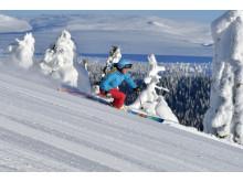 Alpin skidåkning på Idre Fjäll