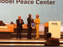 Partnership launch, Nobel Peace Center and FIFA