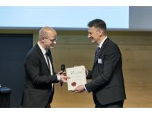 Elastyrenprisen_2018_Niels_Chr_Nielsen_og_Kurt_Gothelf
