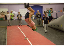 Air Wipp Parkour Camp 2014 i Helsingborg