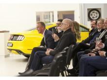Invigning av FordStore hos Brandts i Vänersborg