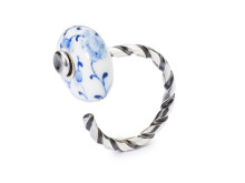 Ring with Trollbeads Day bead