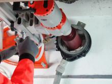 Clipper Foam: Kerneboring med skum i stedet for vand - Anvendelse
