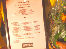 Skjutsgruppens grundare Mattias Jägerskog utses till Trafiklabhjälte 2016