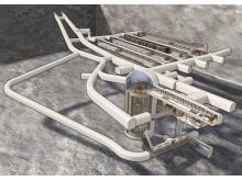 Slutförvaret för kortlivat radioaktivt avfall