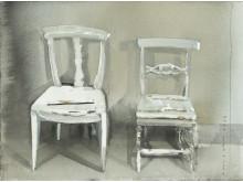Lars Lerin / Stolar/Chairs, 2013