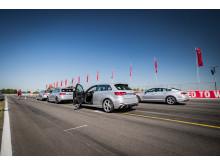 Audi driving experience 2018 med Audi S5 Sportback og Audi RS3