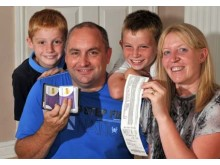 Winners of Nectar Savvy Family 2012 - the Stenton family