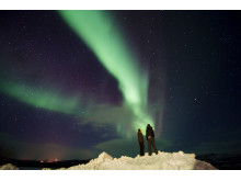 Nordlichtbeobachtung bei Kautokeino, Finnmark