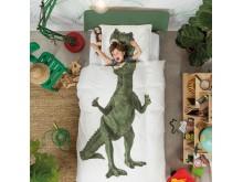 Snurk sängkläder - Dinosaurie