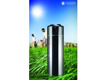 Die Warmwasser-Wärmepumpe mit bis zu 70% Energieersparnis