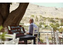 Græsk kaffe og hjemmebag