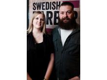 Marielle Johansson, The Infamous Westcoast Barbershop, Varberg med modell