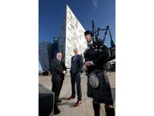 Scots set sail to Belfast in 'Titanic' numbers