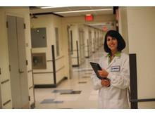 Forskare i MSD-labrock