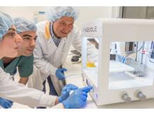Forskning med 3D-bioprinter 1