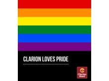 Clarion Hotel er ny hovedsamarbeidspartner med Pride.