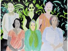 Vita kuben/ Elham Rokni /Halili Sisters