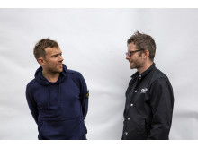 Damon Albarn & Jamie Hewlett