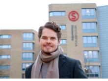 Jonas Virtanen på Vestgrensa studentby