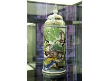 """Ausstellung """"DELFT PORCELAIN. Europäische Fayencen"""" - Nachtlicht (Erfurt / um 1750)"""