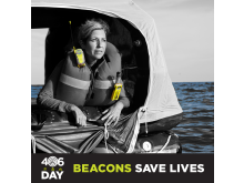 Hi-res image - ACR Electronics - 406Day on April 6th raises awareness about the benefits of 406 MHz emergency beacons