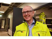 Prosjektleder i Undervisningsbygg Kristian Dølvik