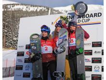 Pallen_Helene Olafsen med 3 plass i Worldcup Lake Louise