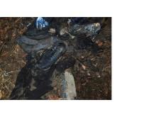 burnt clothes