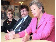Lisa Pelling, Lars Stjernkvist (S), Ylva Johansson (S)
