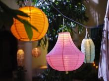 SOLVINDEN solcelledrevne lamper