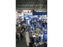 Fulla hallar på Elmia Automation