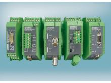 Optiske konvertere og kobber repeatere med DVN godkendelse